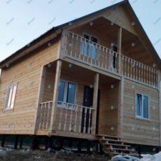Каркасный дома 6х6 в Мос.обл.