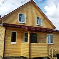 Каркасный дома 7,5х9 в Смоленской обл.